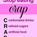"""Dietary Advice: """"Stop Eating C.R.A.P."""""""
